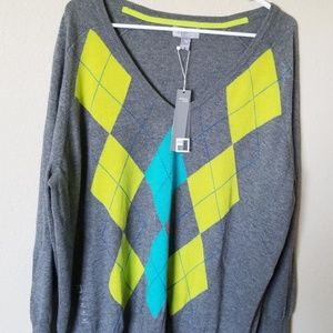 JC Penney cashmere blend sweater